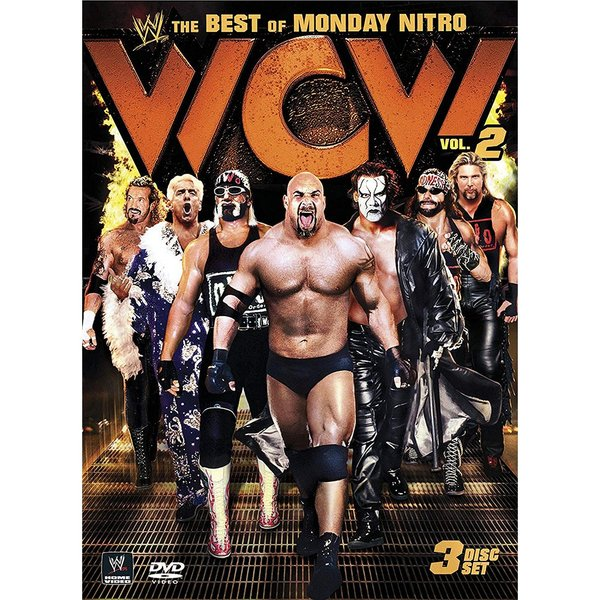 WWE/WCW The Best of WCW Monday Nitro Vol.2 輸入盤DVD 3枚組|bdrop