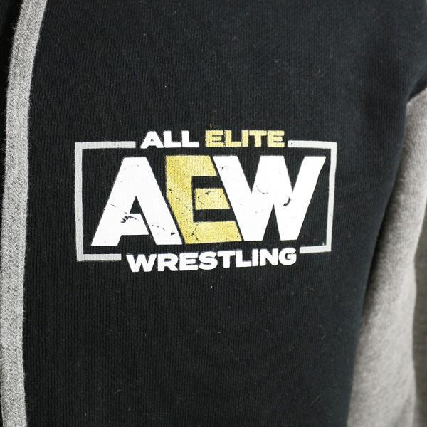 AEW Logo Premium バーシティ ジャケット|bdrop|02