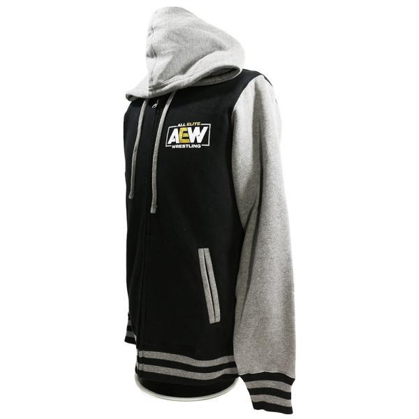 AEW Logo Premium バーシティ ジャケット|bdrop|03