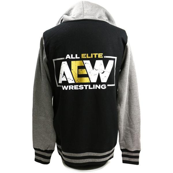 AEW Logo Premium バーシティ ジャケット|bdrop|04