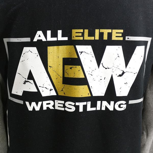 AEW Logo Premium バーシティ ジャケット|bdrop|05