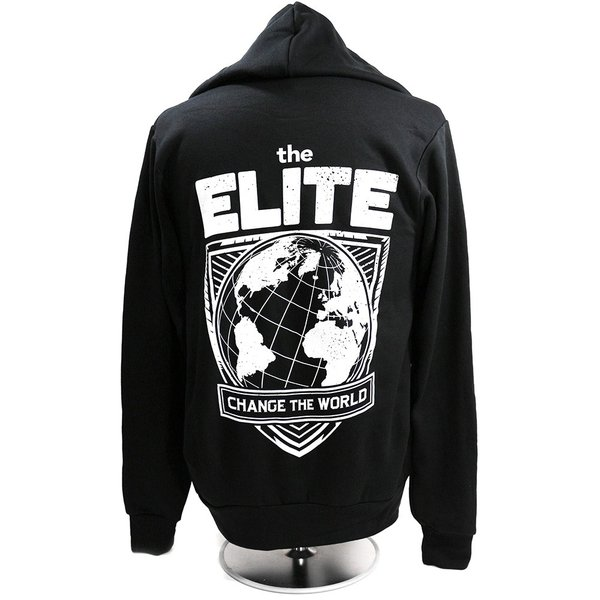The Elite(ジ・エリート) Change The World ジップパーカー|bdrop|04