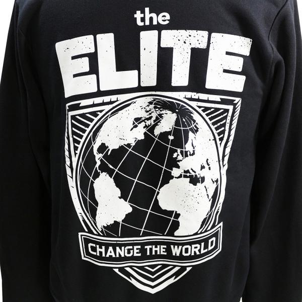 The Elite(ジ・エリート) Change The World ジップパーカー|bdrop|05