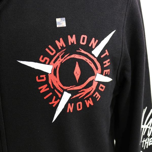 WWE Finn Balor (フィン・ベイラー/フィン・バロール) Summon The Demon King Ninja ジップパーカー(薄手)|bdrop|02