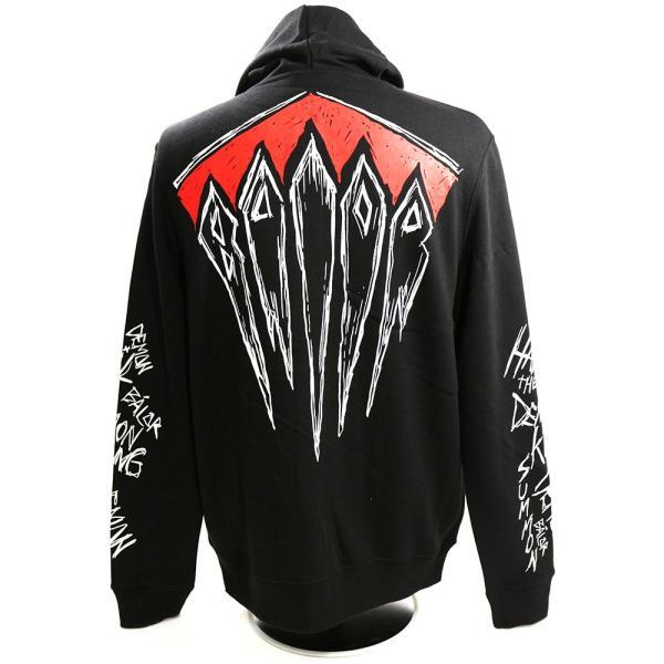 WWE Finn Balor (フィン・ベイラー/フィン・バロール) Summon The Demon King Ninja ジップパーカー(薄手)|bdrop|04