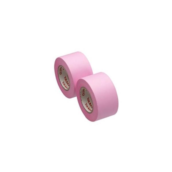 (まとめ)ヤマト メモックロール替テープ蛍光 WR-25H-RO〔×10セット〕