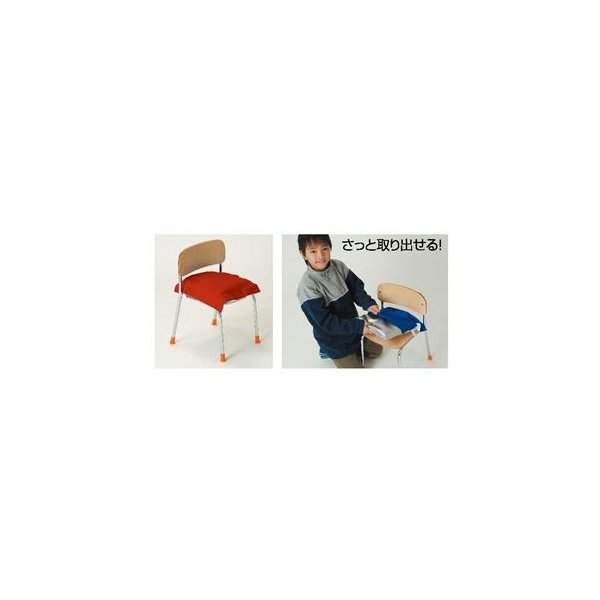 (まとめ)アーテック クッションカバーのみブルー(青)(子供用防災ずきん用) 〔×15セット〕
