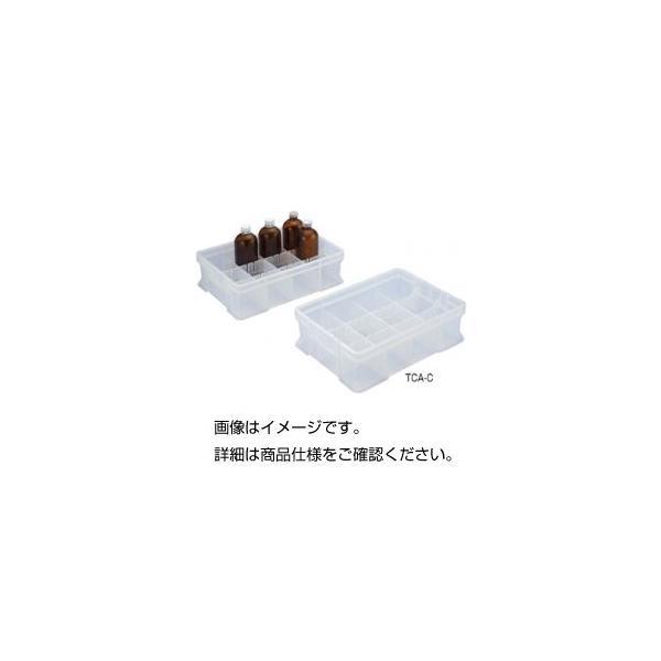 まとめ 特別セール品 薬品整理箱 TCC-C〔×3セット〕 クリア 直輸入品激安