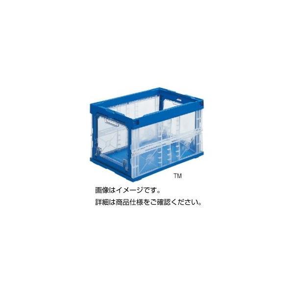<title>透明扉付折りたたみコンテナー 75B2TM バラ 直営店</title>
