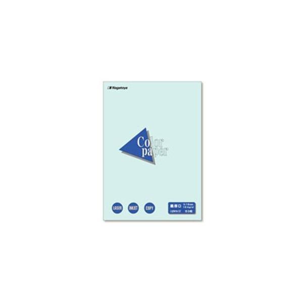 (業務用200セット) Nagatoya カラーペーパー/コピー用紙 〔はがき/最厚口 50枚〕 両面印刷対応 水