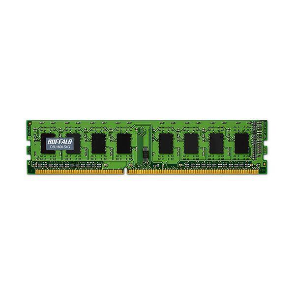 初回限定 バッファロー 法人向けPC3-12800 贈呈 DDR3 1600MHz 240Pin 4GB MV-D3U1600-S4G1枚 SDRAM DIMM