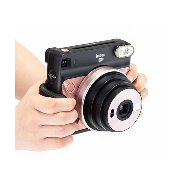 (まとめ)富士フイルム カメラグリップチェキスクエア instax SQUARE SQ6用 1個〔×2セット〕