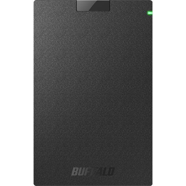 <title>バッファロー USB3.2 Gen1 対応ポータブルHDD 限定品 Type-Cケーブル付 1TB ブラック</title>