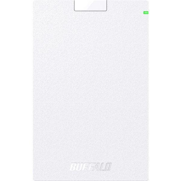 バッファロー USB3.2 ご注文で当日配送 Gen1 対応ポータブルHDD ホワイト Type-Cケーブル付 人気海外一番 1TB
