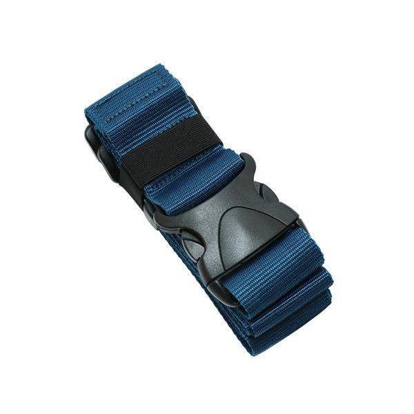 ワンタッチスーツケースベルト ネイビー MBZ-SBL01/NV