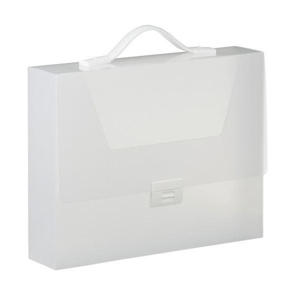 キングジム シンプリーズ キャリングケース グリップタイプ(透明) A4 収納幅70mm 透明 294TSPW 1セット(6個)