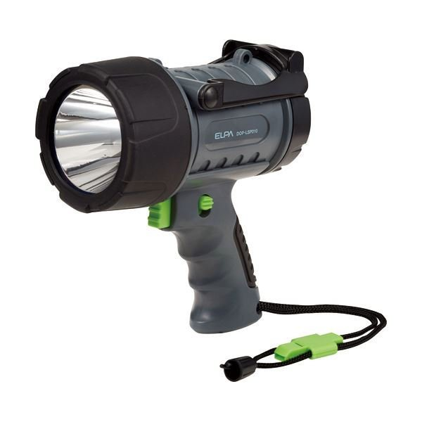 (まとめ)ELPA LEDパワーライトホイッスル付ストラップ DOP-LSP010 1個 〔×3セット〕