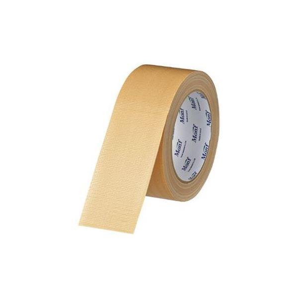 (まとめ)古藤工業 梱包用 音が静かな布テープ No.8003〔×10セット〕