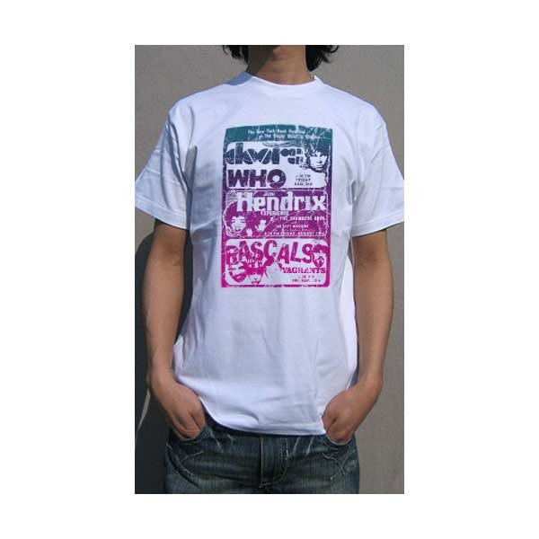 Rock Star New York Rock Festival フライヤー 古着風 アレンジTシャツ Tシャツ メンズ レディース ロゴt おもしろtシャツ 半袖 おしゃれ|be-rire