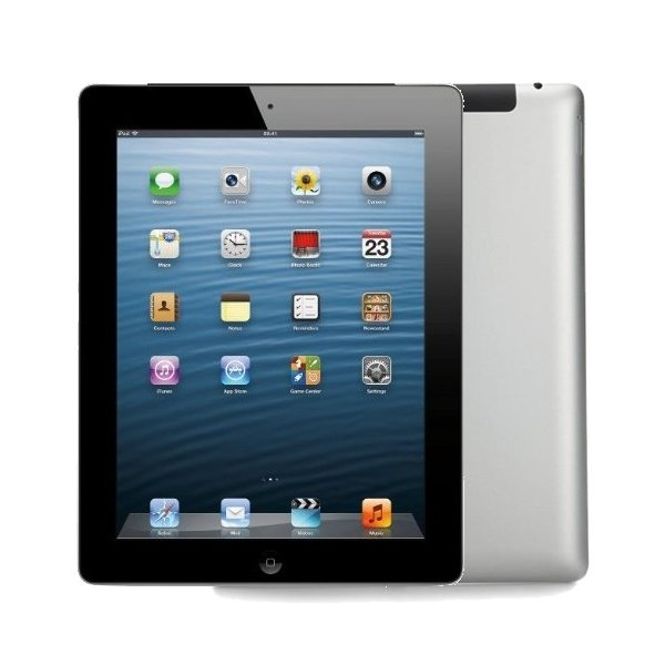 iPad 3 Wi-Fi +Cellular 16GB ブラック (MD366J/A) 第3世代 SoftBankの画像