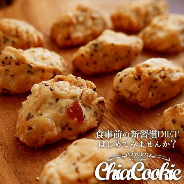ナチュラルチアクッキー  100g×5袋  有機栽培 チアシード 玄米