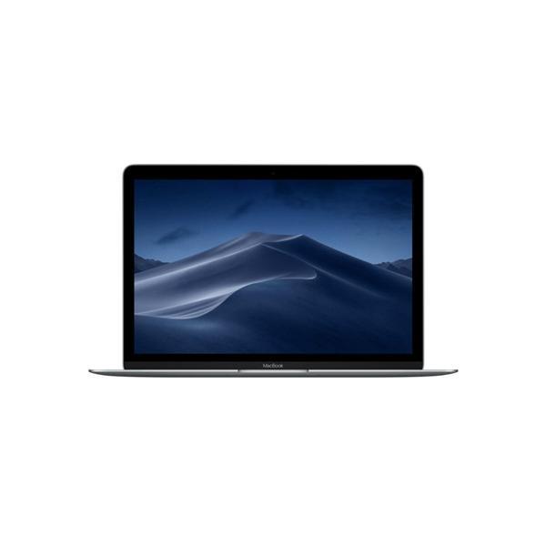 MacBook 12インチ[2017年/SSD 256GB/メモリ 8GB/1.2GHzデュアルコアCore m3]スペースグレイ MNYF2J/Aの画像