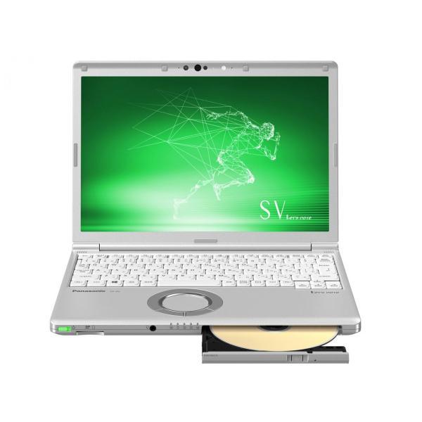 Panasonic CF-SV8CFBQR ノートパソコン Let's note(レッツノート) SVシリーズ【LTE対応モデル】 シルバー [12.1型 /intel Core i5 /SSD:256GB /メモリ:16GB /2019年春モデル]の画像