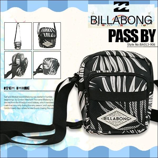 ビラボン レディース ショルダーバッグ PASS BY ポーチ BILLABONG BA013-906