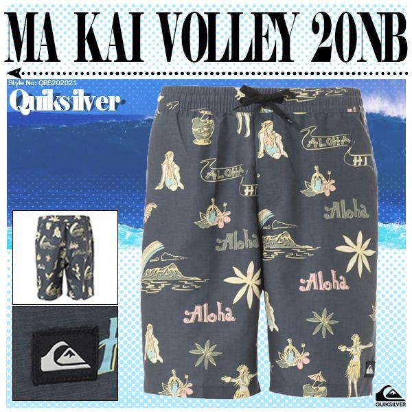 クイックシルバー メンズ ボードショーツ MA KAI VOLLEY 20NB QUIKSILVER QBS202021