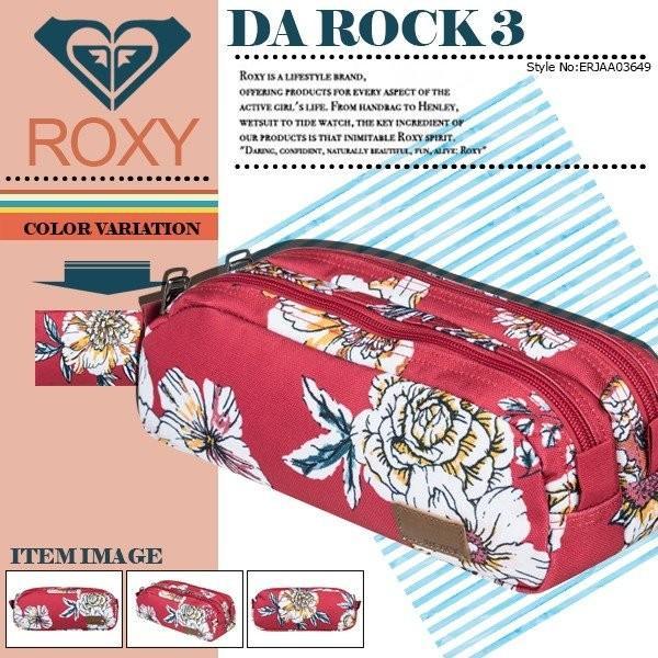 ロキシー ペンケース ポーチ レディース DA ROCK 3 ROXY ERJAA03649