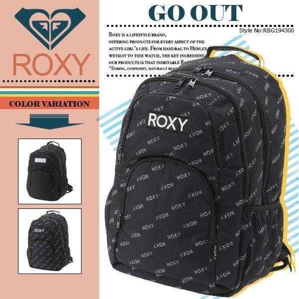 リュック ロキシーバックパック GO OUT ROXY RBG194300