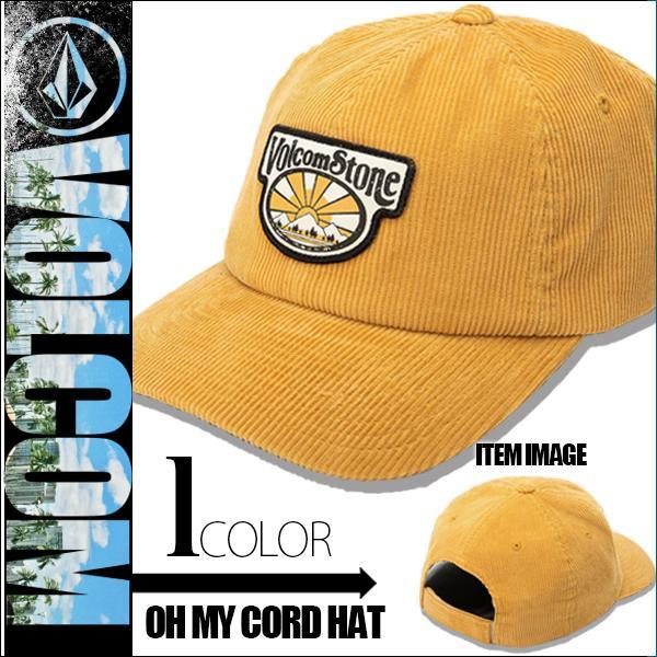 ボルコム キャップ 帽子 OH MY CORD HAT メンズ VOLCOM E5532002