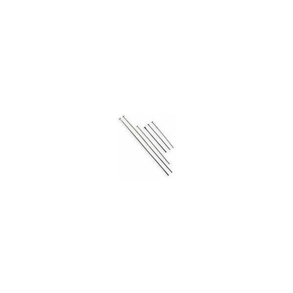 基礎金具/Tピン Tピン0.7×45mm銀色 3g(約18本) beadsmania-shop