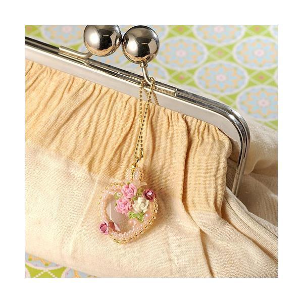 ビーズ キット ビーズファクトリー ベビーピンクの香水瓶チャーム beadsmania-shop 05