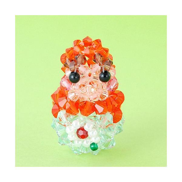 ビーズキット レシピ マトリョーシカ(オレンジ) キット beadsmania-shop