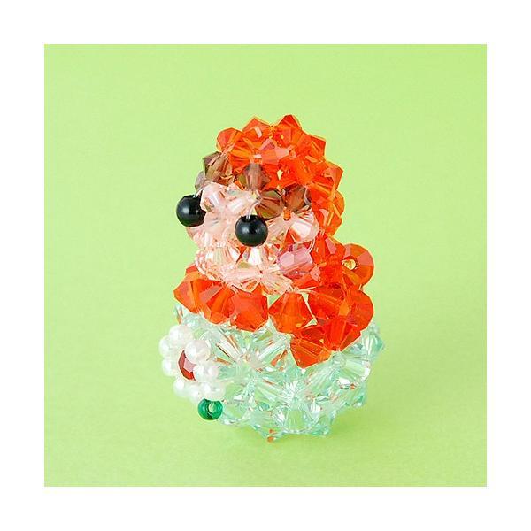 ビーズキット レシピ マトリョーシカ(オレンジ) キット beadsmania-shop 02