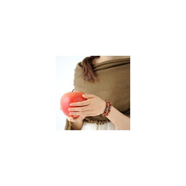 ビーズ キット アクセサリー TOHO ≪リリアンブレスレットキット≫フルーツキャンディ・2ラップブレス|beadsmania-shop|04