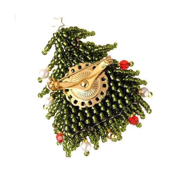 ビーズ キット クリスマスツリー クリスマスブローチ beadsmania-shop 04
