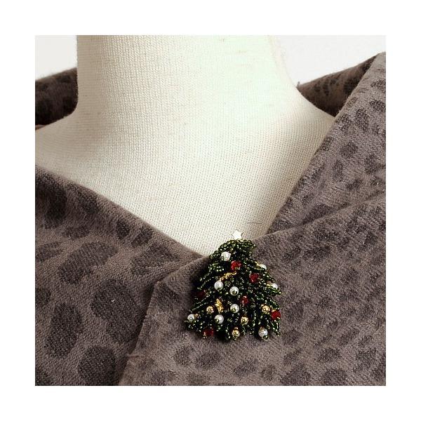ビーズ キット クリスマスツリー クリスマスブローチ beadsmania-shop 05