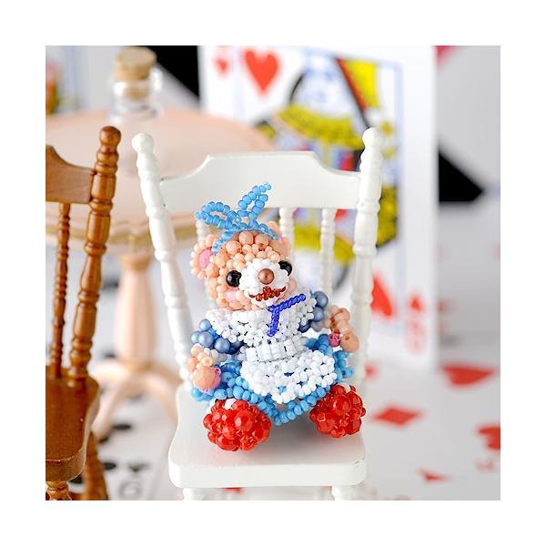 ビーズキット どうぶつ テディベアシリーズ〜ハロウィン・不思議の国のアリス〜  ビーズマニア|beadsmania-shop