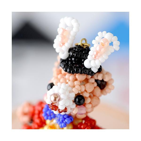 ビーズキット どうぶつ テディベアシリーズ〜ハロウィン・不思議の国の白うさぎ〜  ビーズマニア|beadsmania-shop|04