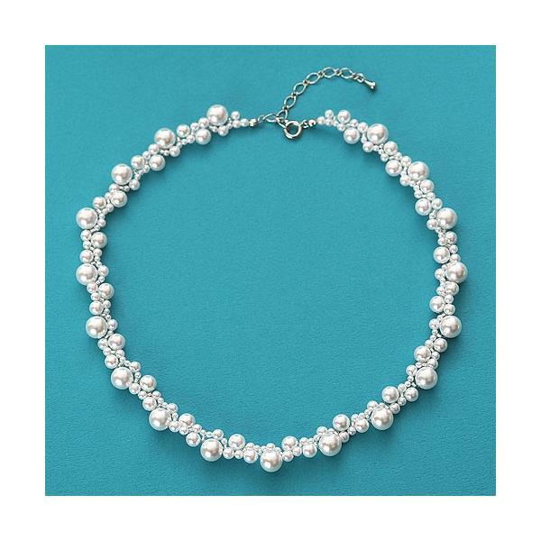 ビーズ キット アクセサリー Laciq Beads チェリーパールのネックレス&イヤリング|beadsmania-shop|03