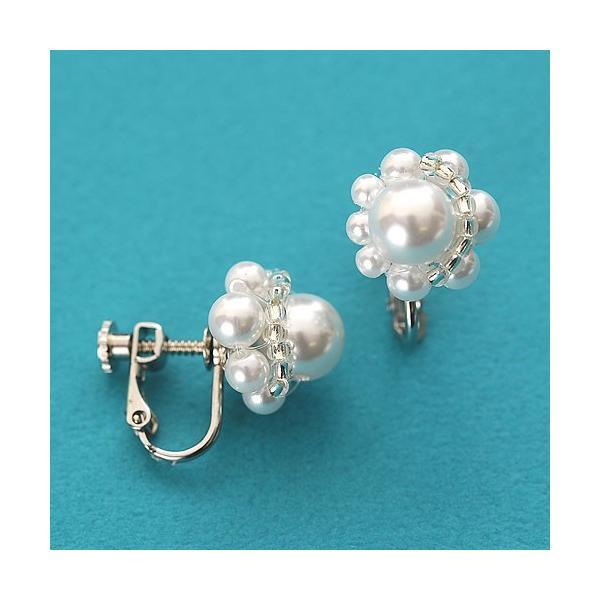 ビーズ キット アクセサリー Laciq Beads チェリーパールのネックレス&イヤリング|beadsmania-shop|04