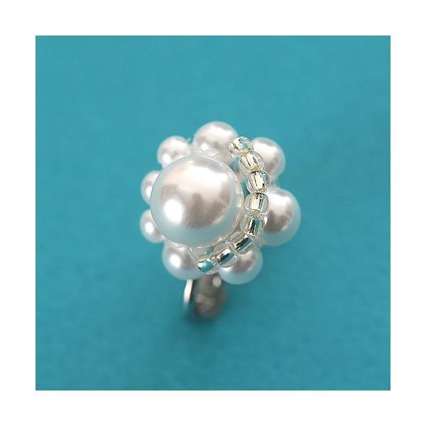 ビーズ キット アクセサリー Laciq Beads チェリーパールのネックレス&イヤリング|beadsmania-shop|05