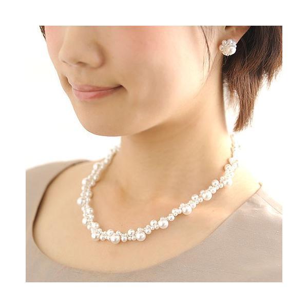 ビーズ キット アクセサリー Laciq Beads チェリーパールのネックレス&イヤリング|beadsmania-shop|06