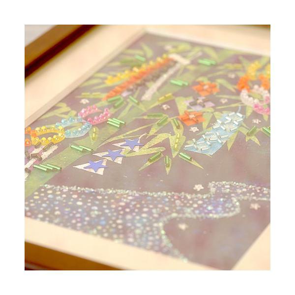 手作りキット 手芸 ビーズキット ハンドメイド 手芸 キット 簡単手作りキット ビーズファクトリー 〜Beads Decor〜七夕(文月・7月) ※額は別売り|beadsmania-shop|03