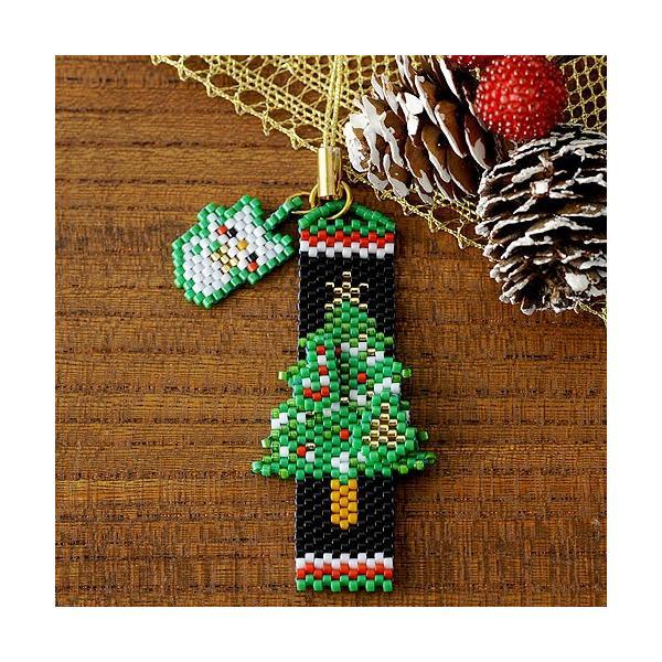 ビーズ キット レシピ Merry Christmasペヨーテ&シェイプストラップ|beadsmania-shop