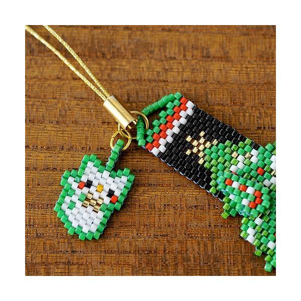 ビーズ キット レシピ Merry Christmasペヨーテ&シェイプストラップ|beadsmania-shop|02