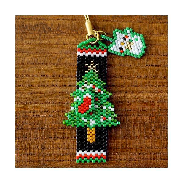 ビーズ キット レシピ Merry Christmasペヨーテ&シェイプストラップ|beadsmania-shop|04