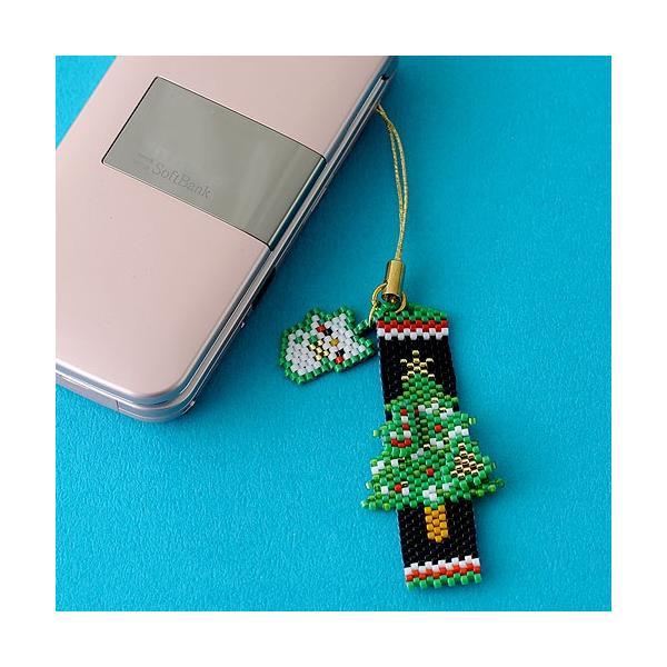 ビーズ キット レシピ Merry Christmasペヨーテ&シェイプストラップ|beadsmania-shop|06